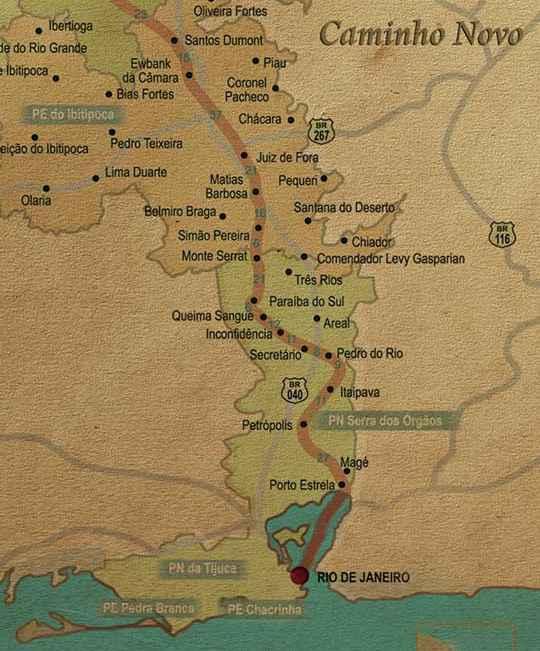 Viagem de Juiz de Fora ao Rio de Janeiro.